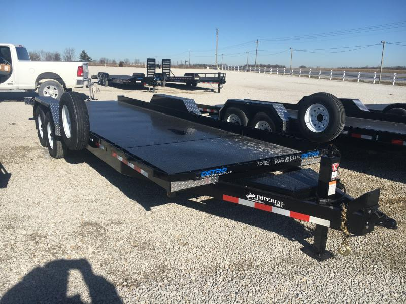 2021 Imperial Splitfloor Wideboy 82x22(17+5) 14K Equipment Trailer