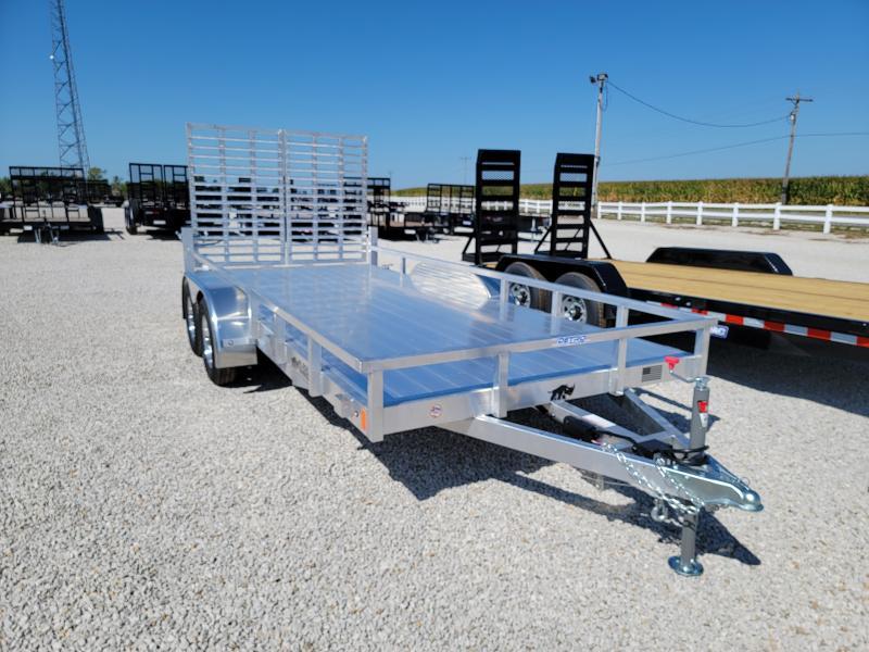 2022 Black Rhino 7x16 7K All Aluminum Utility Trailer