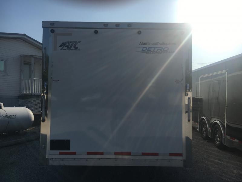 2020 ATC 8.5X40 Aluminum Gooseneck Car / Racing Trailer