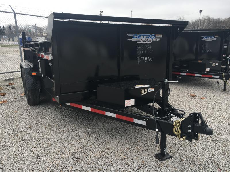 2021 Low Profile 82x14 Twin Cylinder 14K Dump Trailer
