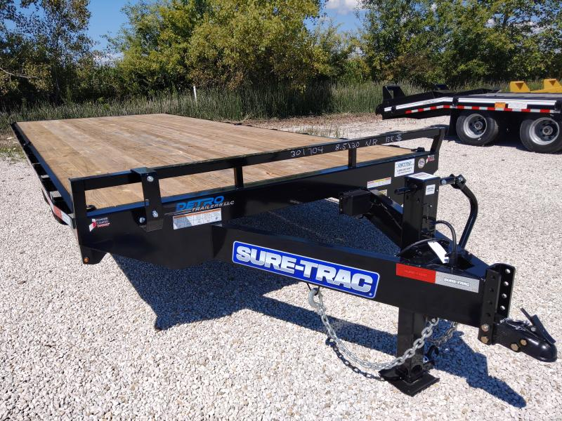2021 Sure-Trac 8.5 X 20 Ft STD Duty Flatbed Deckover No Ramps