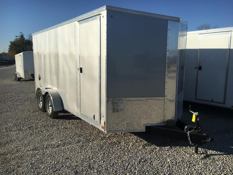 2021 Cargo Express 7x16 Enclosed Double Rear Door 7K Trailer