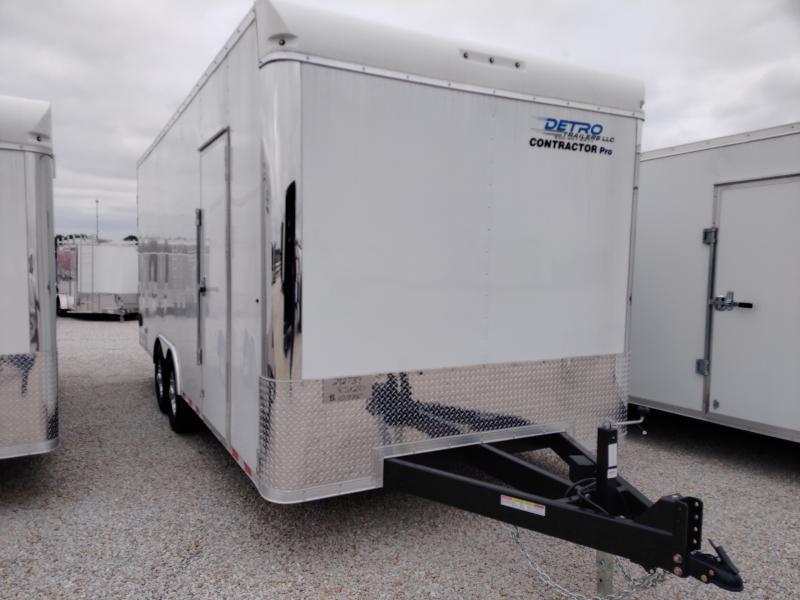 2020 Sure-Trac 8.5x20 Contractor Pro DRD Enclosed TA 14K Trailer