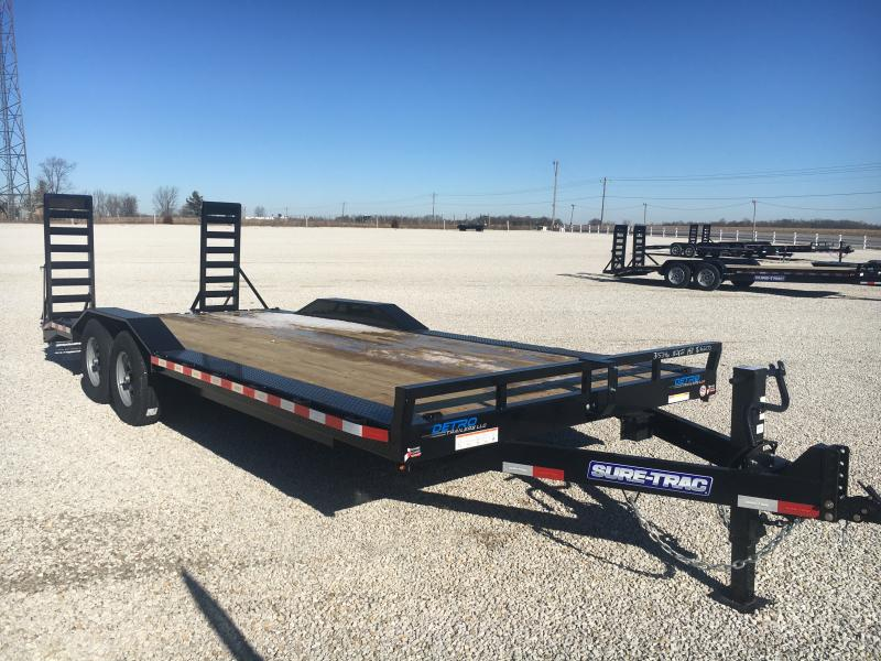 2021 Sure-Trac 8.5x20+2 Full-Width Equipment Trailer