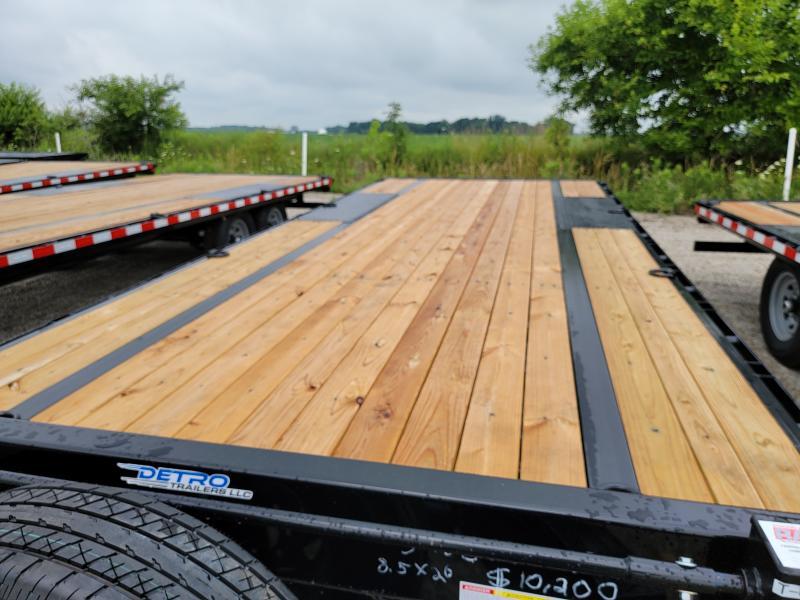 2021 Sure-Trac 8.5x20 Deckover 15K Equipment Trailer