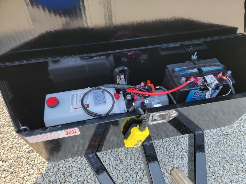 2022 Sure-Trac 5x10 Low Profile Single Ram 7K Homeowner Dump Trailer