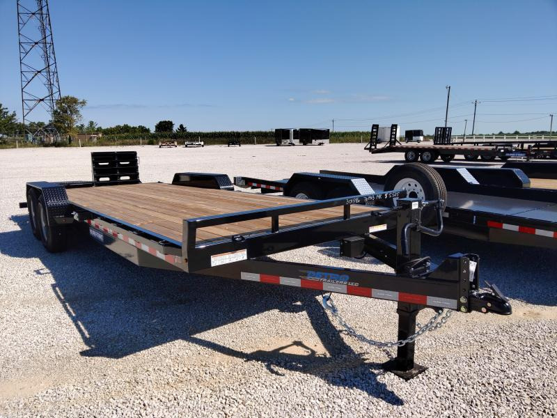 2021 Sure-Trac 7x19+3 Universal Ramp Implement Trailer