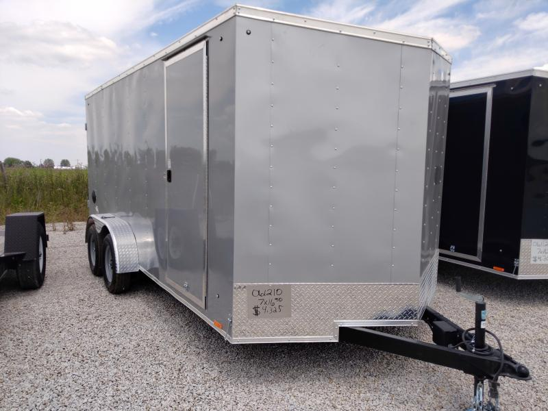 PENDING SALE - 2021 Cargo Express 7X16 Enclosed DRD Trailer