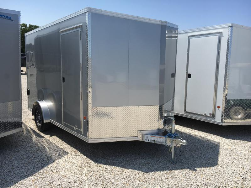 2019 E-Z Hauler 7.5X12 Enclosed Aluminum Ramp Door SA Trailer