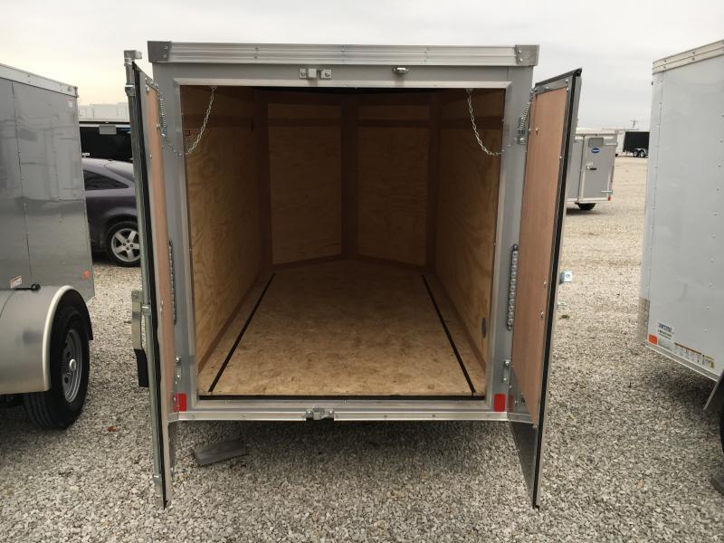 2019 United 5X8 Enclosed Double Rear Door Trailer