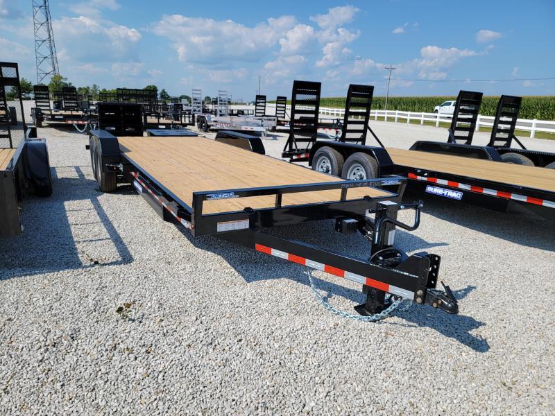 2021 Sure-Trac 7x22(19+3) Universal Ramp Equipment Trailer