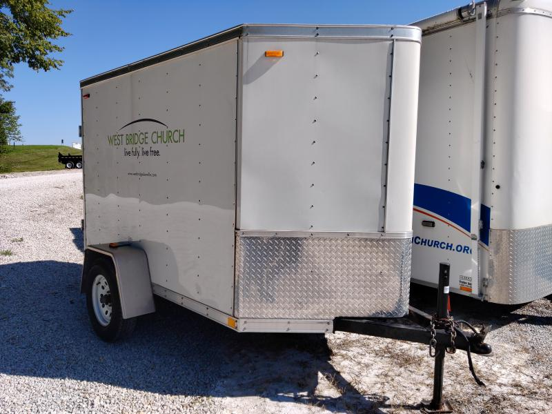 2011 FEROCITY 5X8 Enclosed Swing Door Trailer