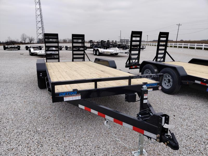 2021 Sure-Trac 7x16+2 14K Equipment Trailer