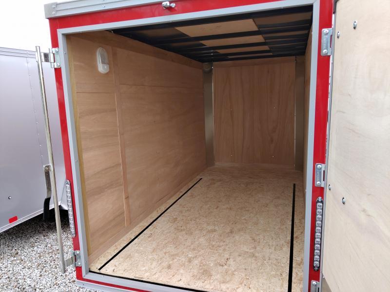 2020 United 5X10 Enclosed Swing Door Trailer