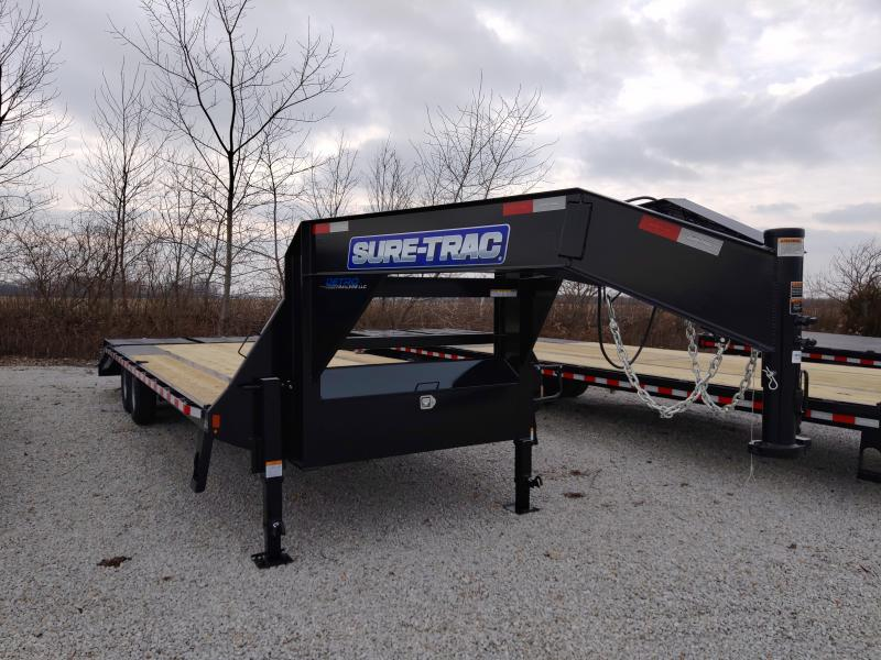 2021 Sure-Trac 8.5x20+5 HD Low Profile Gooseneck Trailer