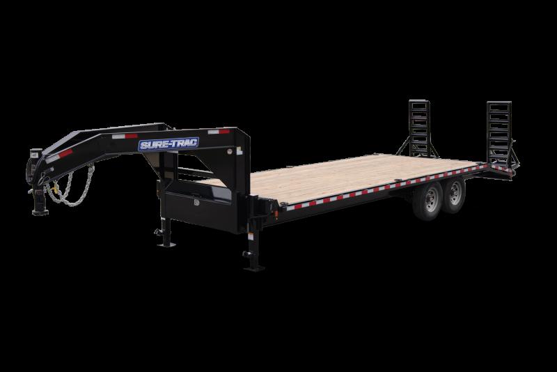 2021 Sure-Trac 8.5x20+5 HD Low Profile Gooseneck Trailer