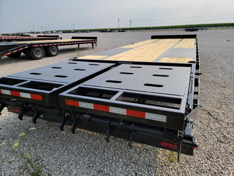2021 Sure-Trac 8.5x25+5 Heavy Duty 22.5K Low Profile Beavertail Deckover