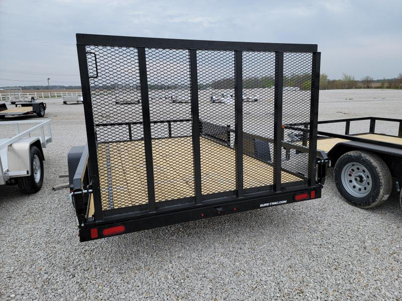 2021 Sure-Trac 7x12 Tube Top 3K ATV Trailer