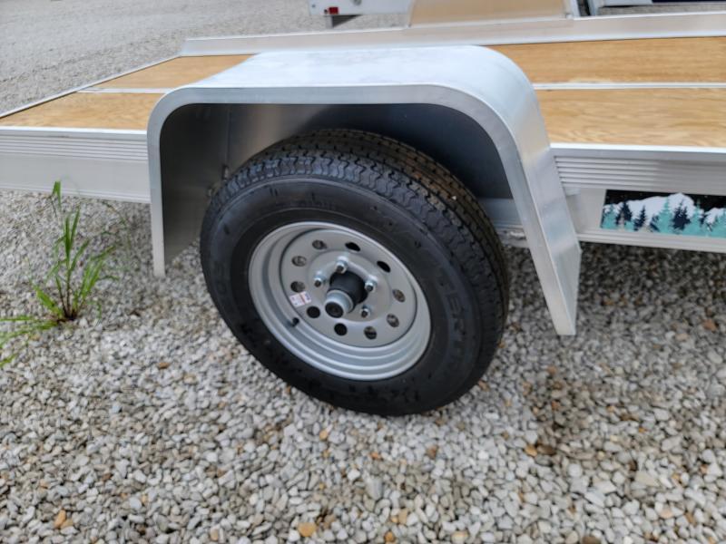 "2022 Aluma 8605 Tilt 50""x10' Snowmobile/Utility Trailer"