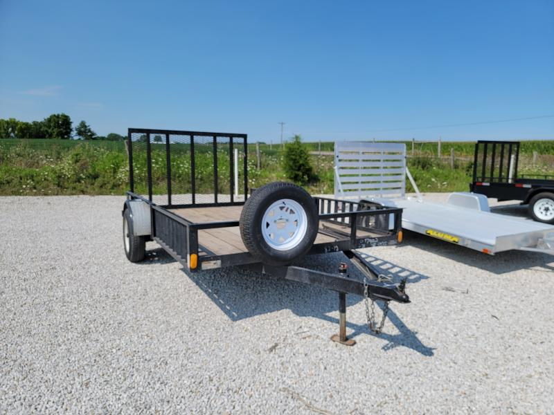 2006 H and H 82x12 Utility Trailer