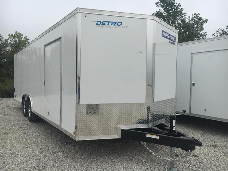 2021 Sure-Trac 8.5x24 Pro Series Wedge Car Hauler TA 10K