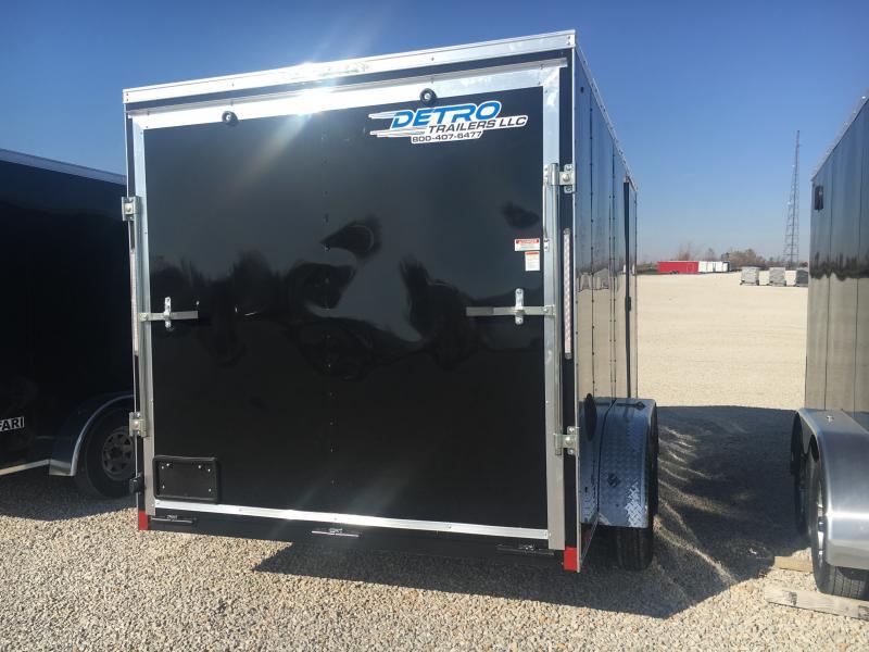 2021 Cargo Express 7x14 Enclosed Rear Ramp Trailer