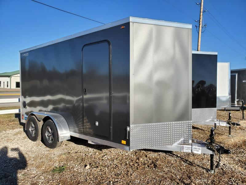 2021 Legend Trailers 7x16 Tandem Axle Aluminum Enclosed Cargo Trailer