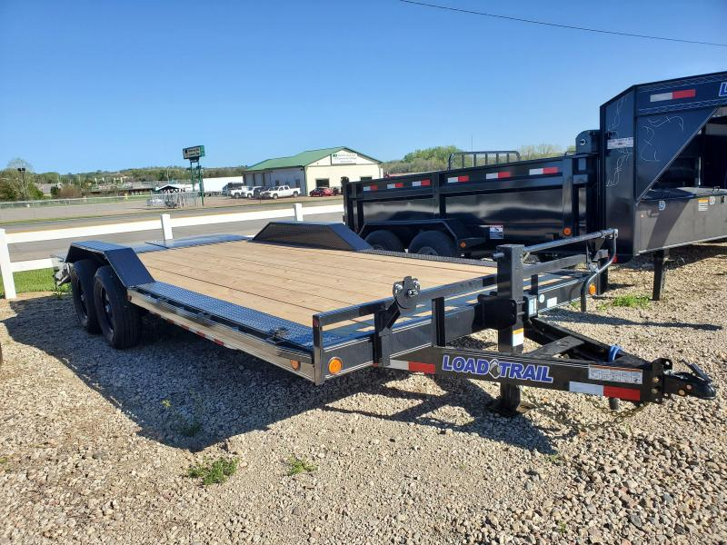 2021 Load Trail 102x20 Tandem Axle Carhauler Equipment Trailer