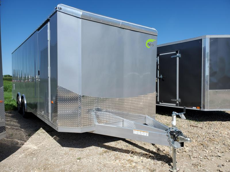 2021 NEO Trailers 8.5x24 Tandem Axle Aluminum Enclosed Cargo Trailer