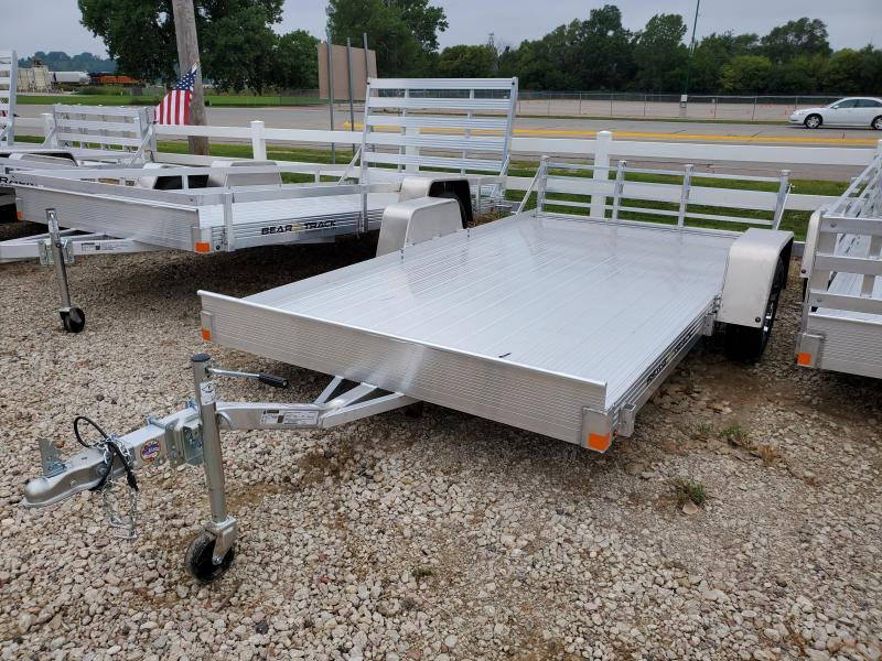 2021 Bear Track 72x12 Single Axle Aluminum Utility Trailer