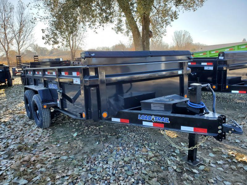 """2021 Load Trail 83""""X14' Tandem Drop Axles Dump Trailer"""