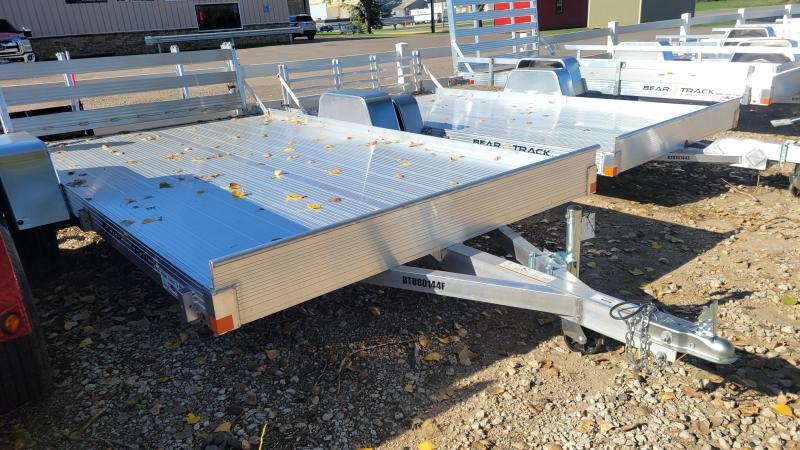 2022 Bear Track 80x12 Single Axle Aluminum Utility Trailer