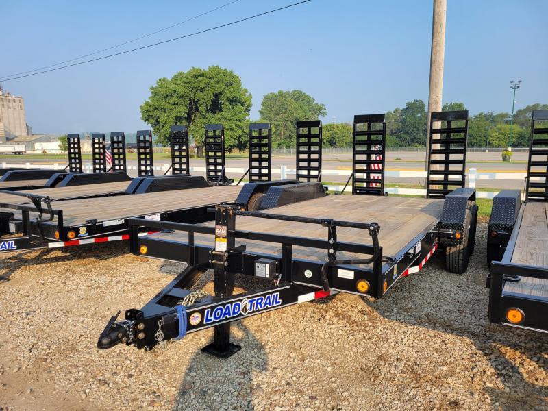 2021 Load Trail 83X18 TANDEM AXLE Equipment Trailer