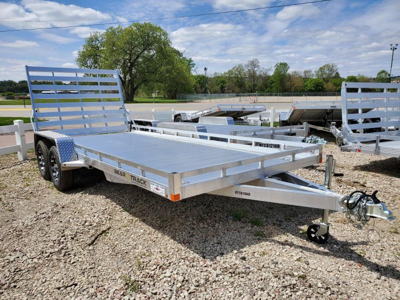 2020 Bear Track 81x16 Tandem Axle Equipment Trailer
