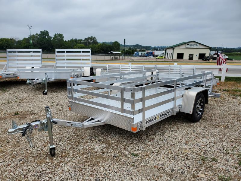2021 Bear Track 65x10 Single Axle Aluminum Utility Trailer