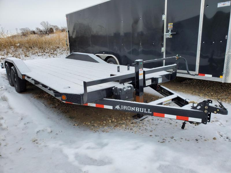 2021 Norstar Iron Bull 102x22 Tandem Axle Equipment Trailer
