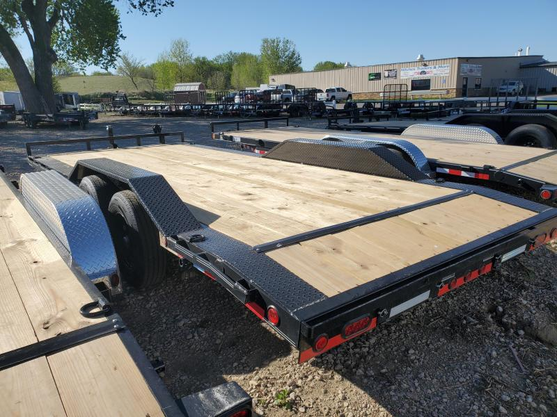 2021 Load Trail 102x20 Tandem Axle Carhauler Equipment Trailer