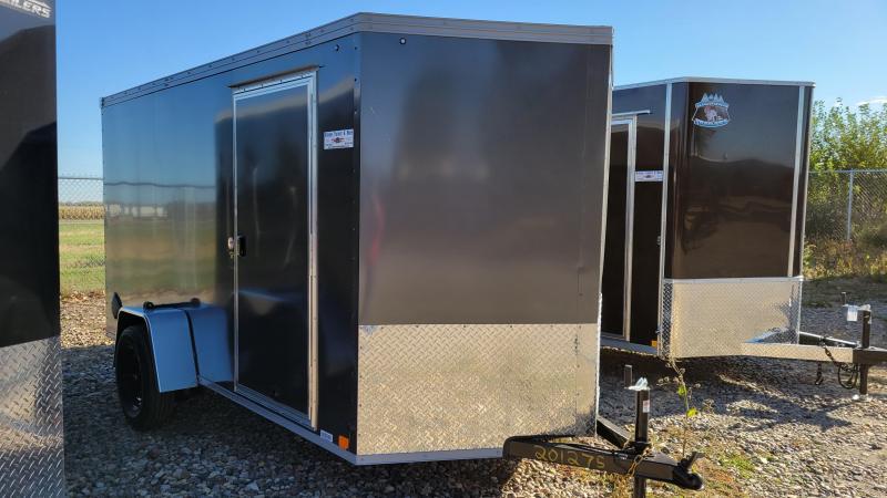 2022 United Trailers 6x12 Single Axle Enclosed Cargo Trailer