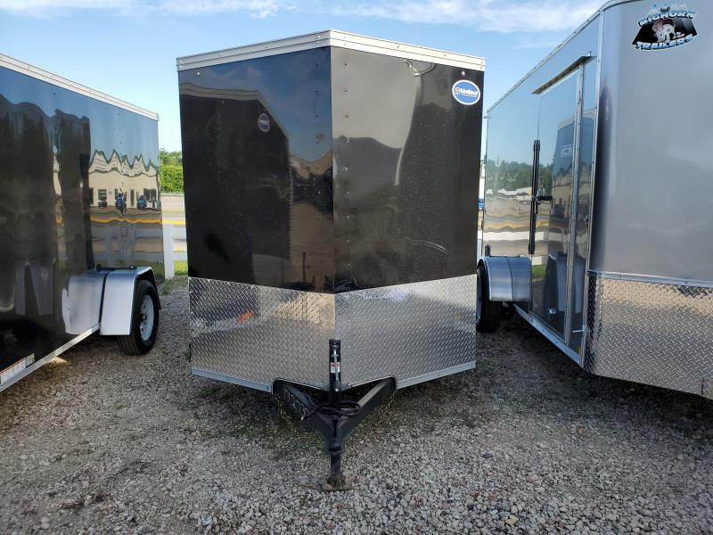 2021 United Trailers 6x12 Single Axle Enclosed Cargo Trailer