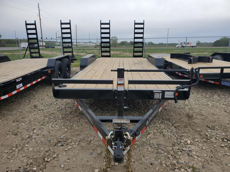 2021 Norstar 83x20 Tandem Axle Carhauler Equipment Trailer