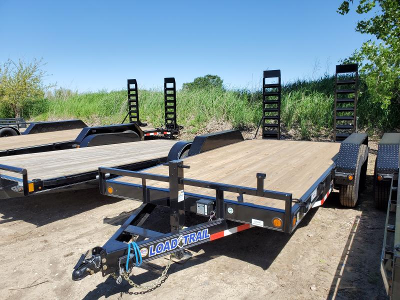2020 Load Trail 83x16 Tandem Axle Carhauler Equipment Trailer