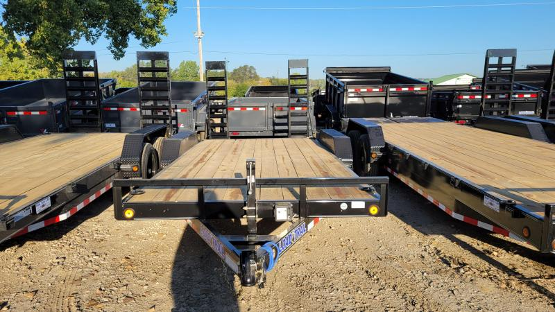 2022 Load Trail 83x18 Tandem Axle Carhauler Equipment Trailer