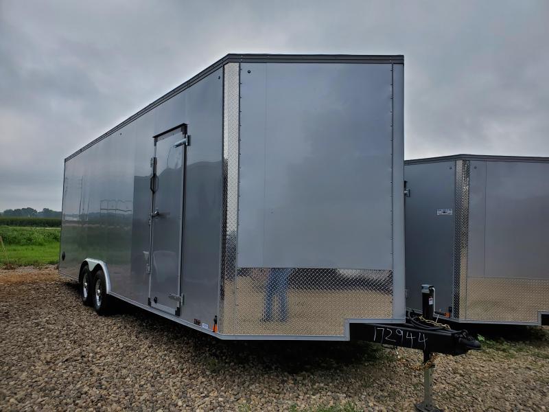 2021 United Trailers 8.5x24 Tandem Axle Enclosed Cargo Trailer