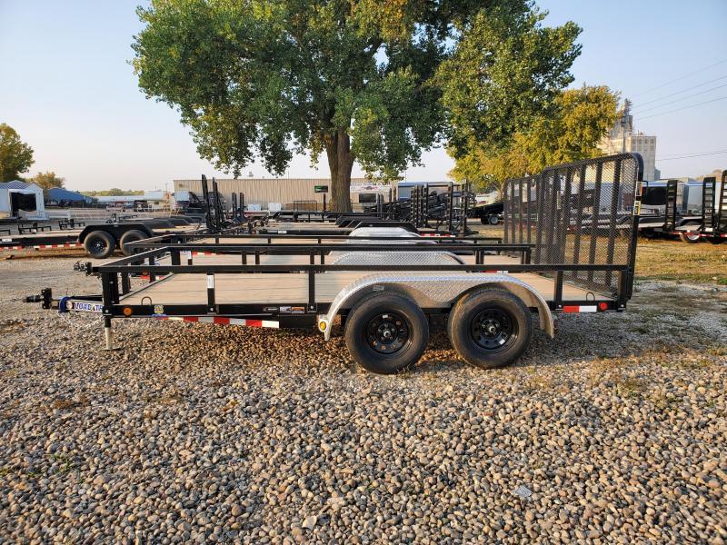 "2021 Load Trail 83"" x 14' Tandem Axle Utility Trailer"