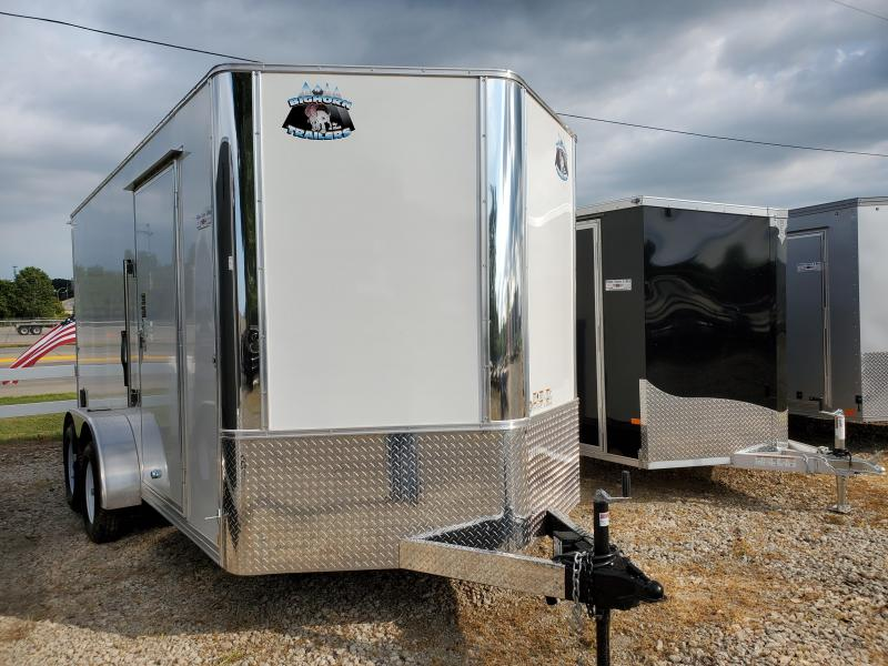 2021 Bighorn 7x14 Tandem Axle Enclosed Cargo Trailer
