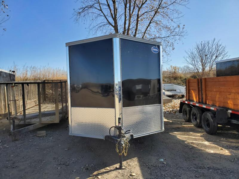 USED 2020 United Trailers 7x14 TANDEM AXLE Enclosed Cargo Trailer