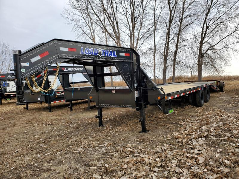 "2021 Load Trail 102""x25' Tandem Axle Low-Pro Equipment Trailer"