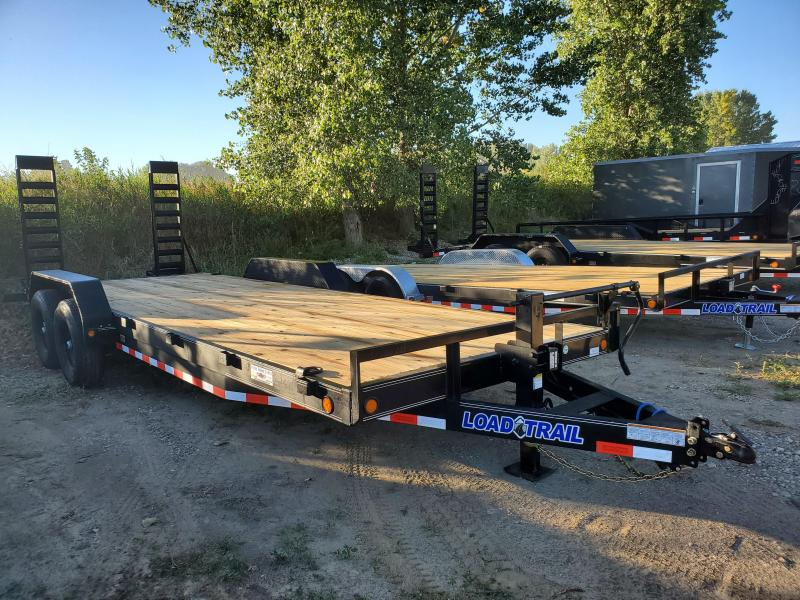 2021 Load Trail 83x22 Tandem Axle Carhauler Equipment Trailer