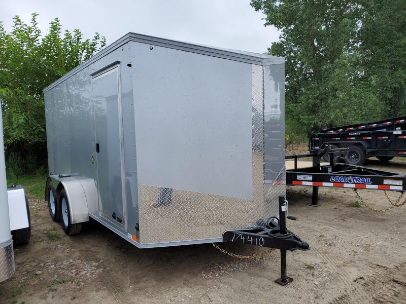 2021 United Trailers 7x14 Tandem Axle Enclosed Cargo Trailer
