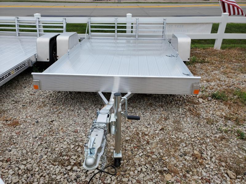 2021 Bear Track 76x10 Single Axle Aluminum Utility Trailer
